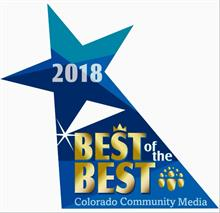 2018 Best of the Best Colorado Community Media Award