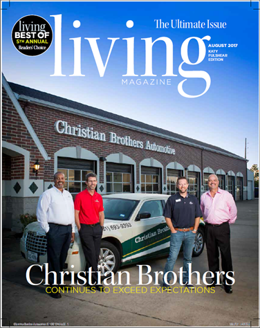 "Christian Brothers is a ""2017 Best of Katy & Fulshear Readers' Choice"" Auto Repair Shop winner"