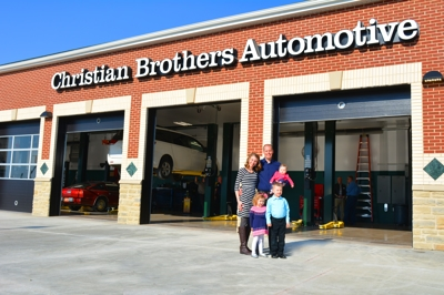 Meet the owner Kevin Kaschube and his family are the proud owners of Christian Brothers Automotive in Avon.