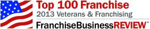 Franchise Business Review Top 100 Franchise 2013 Veterans & Franchising