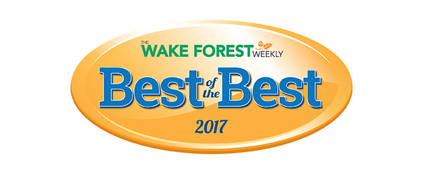 The Wake Forest Weekly Best of the Best Award 2017