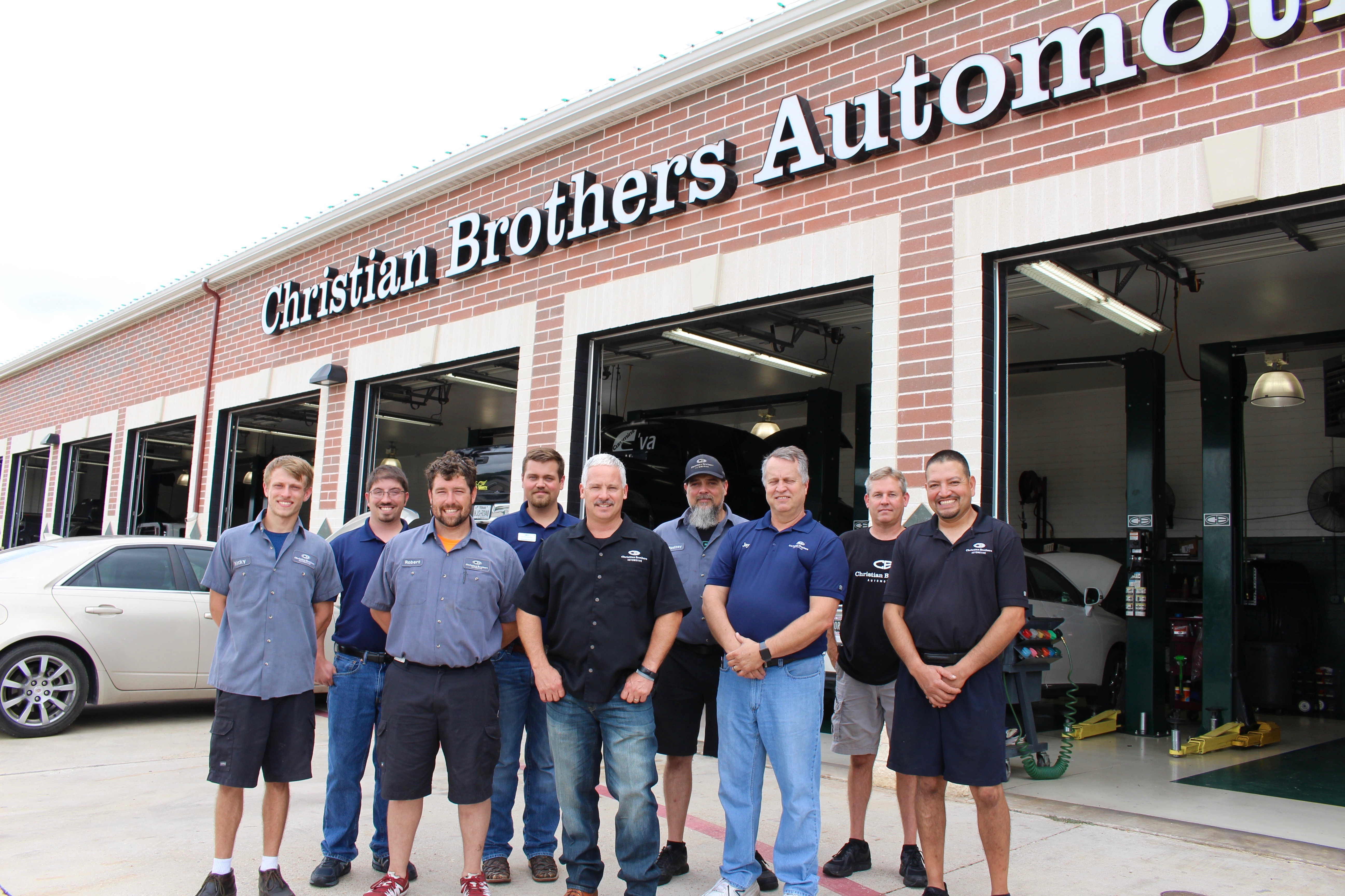 Christian Brothers Automotive in Weatherford, Texas employees